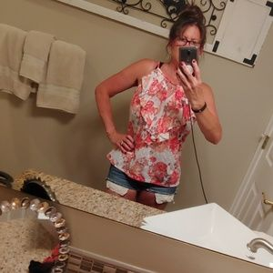 Summer top, bright and cheery